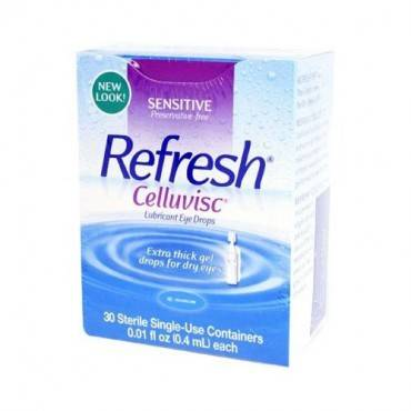 ALLERGAN Refresh Celluvisc Lubricant Eye Drops (pack of 30)