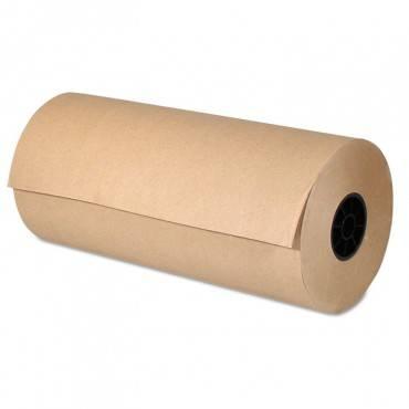 Kraft Paper, 36 In X 874 Ft, Brown