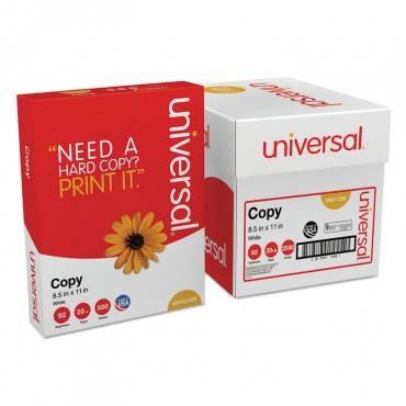 Copy Paper Convenience Carton, 92 Brightness, 20lb, 8 1/2 X11, White, 5 Reams/ct