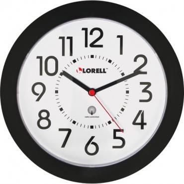 "Lorell 9"" Radio Controlled Profile Wall Clock (EA/EACH)"