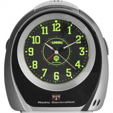 Lorell Atomic Set Alarm Desk Clock (EA/EACH)