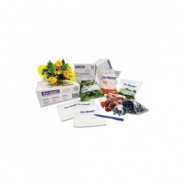 Get Reddi Food & Poly Bag, 8 X 3 X 15, 3.5-quart, 0.68 Mil, Clear, 1000/carton