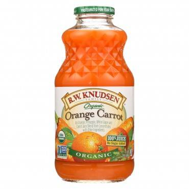 R.W. Knudsen Organic Juice - Orange Carrot - Case of 6 - 32 fl oz