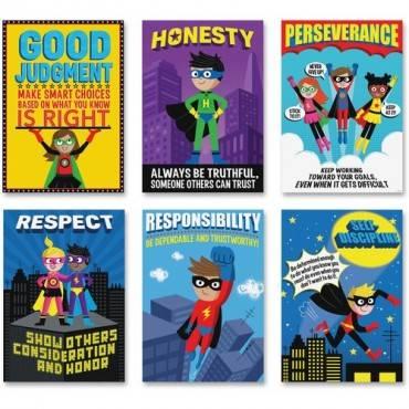 Creative Teaching Press Superhero InspireU Posters (PK/PACKAGE)