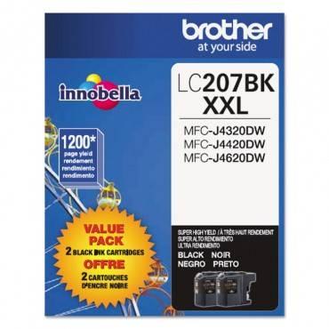 Lc2072pks Innobella Super High-yield Ink, Black, 2/pk