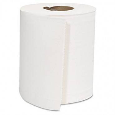 Center-pull Roll Towels, 2-ply, White, 8 X 10, 600/roll, 6 Rolls/carton