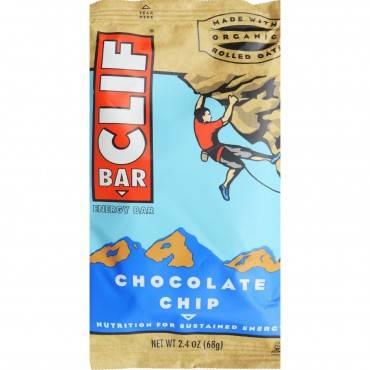 Clif Bar - Organic Chocolate Chip - Case Of 12 - 2.4 Oz