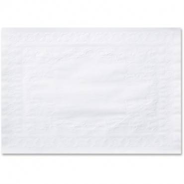 Hoffmaster Straight Edge White Placemats (CA/CASE)