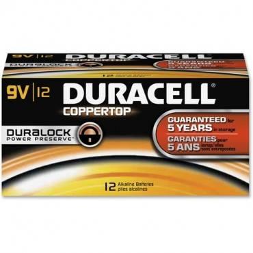 Duracell Coppertop Alkaline 9V Battery - MN1604 (BX/BOX)