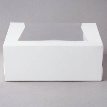 6 Corner Wht Window Bake Ry Box 9x7x3-1/2 200/cs