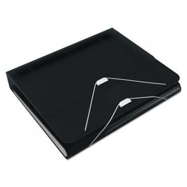 "Samsill  Duo 2-In-1 Binder Organizer, 11 X 8 1/2, 1"" Capacity, Black 10132 1 Each"