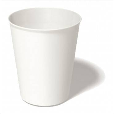 Paper Hot Cups, 4 Oz, White, 20 Cups/sleeve, 50 Sleeves/carton