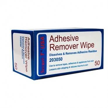 """Securi-t Usa Adhesive Remover Wipe 1-1/4"""" X 3"""" Part No. 203050 (50/box)"""