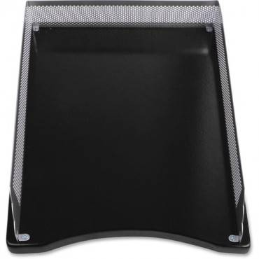 Lorell Metal/Wood 2-color Front Load Tray (EA/EACH)