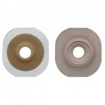 """New Image 2-Piece Precut Convex Flextend (Extended Wear) Skin Barrier 1-3/4"""" (5/Box)"""