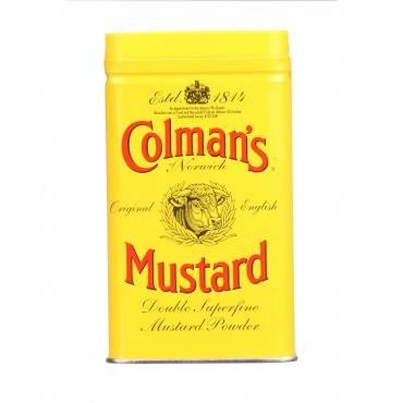 Colman Dry Mustard Powder - 4 Oz - Case Of 12