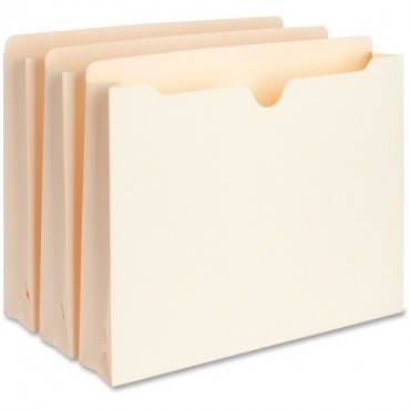 Business Source 2-Ply Vertical Expanding File Pockets (BX/BOX)