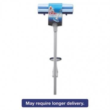 """Heavy Duty Roller Mop, 45"""" Handle, 10 1/2 X 3 Head, White/blue"""