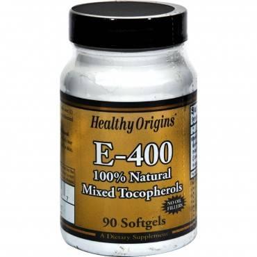 Healthy Origins E-400 - 400 Iu - 90 Softgels