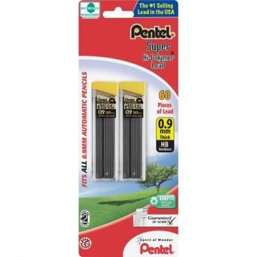 Pentel Super Hi-Polymer 0.9mm Lead Refill (PK/PACKAGE)