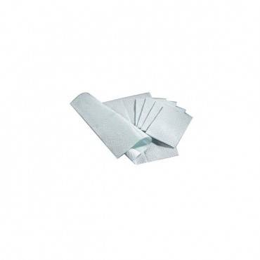 Poly Towel, 13x18, White, 3 Ply Tissue, Plybck,500 Part No. 209122 (500/case)