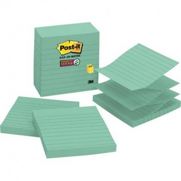 Post-it® Super Sticky Pop-up Lined Notes Refills (PK/PACKAGE)
