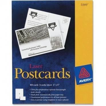 Avery® Laser Print Postcard (BX/BOX)