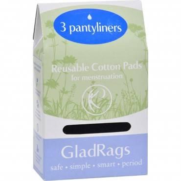 Gladrags Color Pantyliner Regular Cotton - 3 Pack