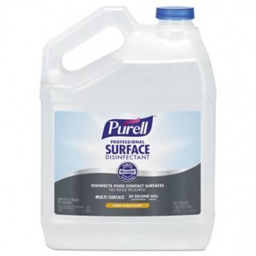 Professional Surface Disinfectant, Fresh Citrus, 1 Gal Bottle, 4/carton