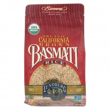 Lundberg Family Farms Organic California Brown Basmati Rice - Case Of 6 - 2 Lb.