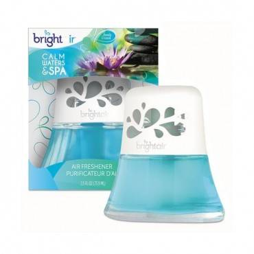 Scented Oil Air Freshener, Calm Waters And Spa, Blue, 2.5 Oz