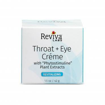 Reviva Labs Throat and Eye Cream - 1.5 oz