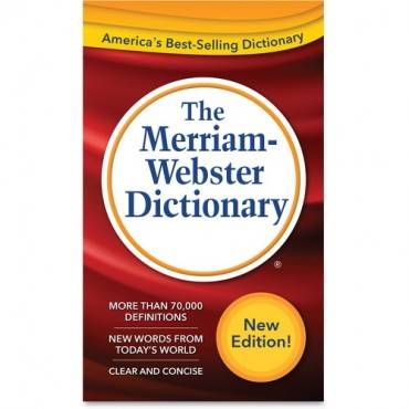 Merriam-Webster Dictionary Dictionary Printed Book (EA/EACH)