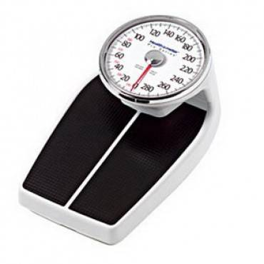 Professional Home Care Mechanical Floor Scale 400 Lb Capacity (1/Each)