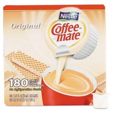 Liquid Coffee Creamer, Original, 0.375 Oz Mini-Cups, 180 Per Box