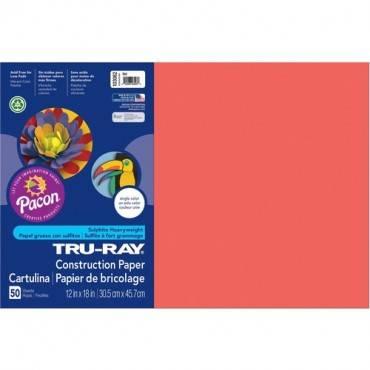 Tru-Ray Heavyweight Construction Paper (PK/PACKAGE)