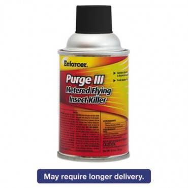 Purge Iii Metered Flying Insect Killer, 6.4 Oz Aerosol, Fresh Scent, 12/carton