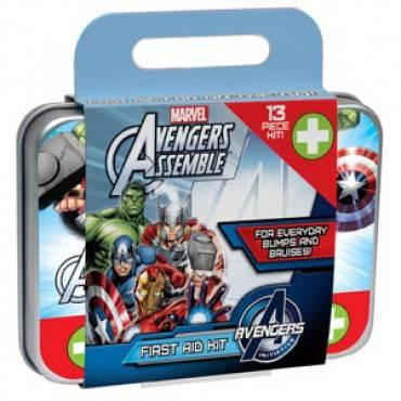 Avengers First Aid Kit, 13 Piece (1/Each)
