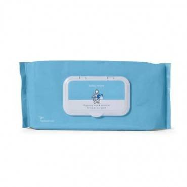 Baby Wipes, Sensitive, Fragrance Free Part No. 2bwpu-42 (42/package)