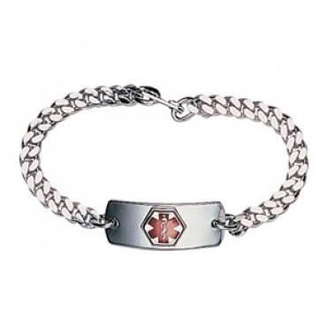 Blank Medical Id Bracelet (2/Package)