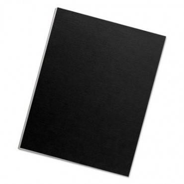 Futura Binding System Covers, Square Corners, 11 X 8 1/2, Black, 25/pack