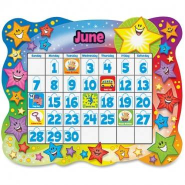 Trend Star Calendar Bulletin Board Set (ST/SET)