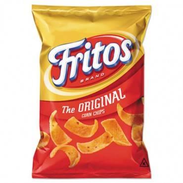 Corn Chips, 2 Oz Bag, 64/carton