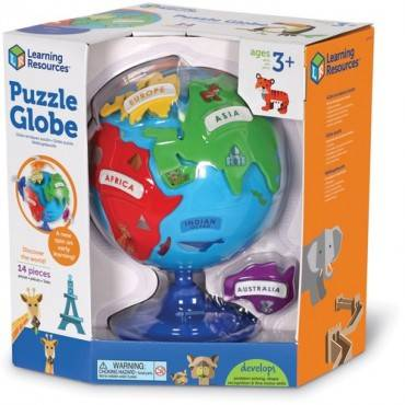 Learning Resources Puzzle Globe (EA/EACH)