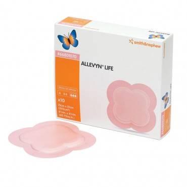 "Allevyn life foam dressing sterile 4"" x 4"" part no. 66801067 (1/ea)"