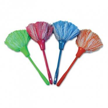 """Microfeather Mini Duster, Microfiber Feathers, 11"""", Assorted Colors"""
