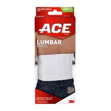 Ace Lumbar Support, With Six Rigid Stays, One Size Part No. 208604 (1/ea)