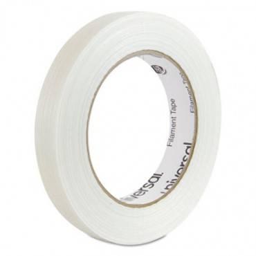 "165# Medium Grade Filament Tape, 18mm X 54.8m, 3"" Core, Clear"