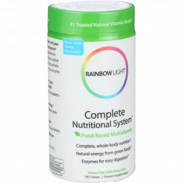 Rainbow Light Complete Nutrional - 180 Tablets