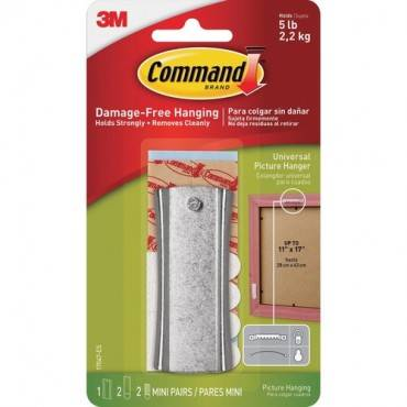 Command™ Sticky Nail Sawtooth Hanger (PK/PACKAGE)